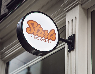 Starls Records Branding (made-up logo)