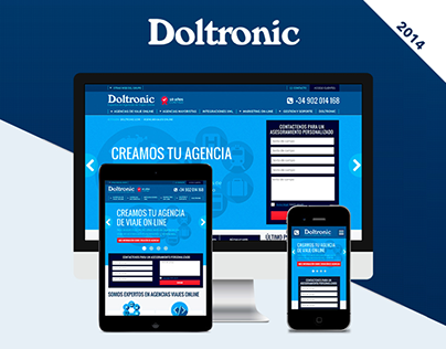 Doltronic Responsive Redesign