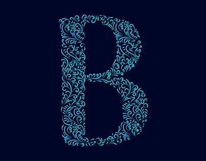 Bani lettering doodling