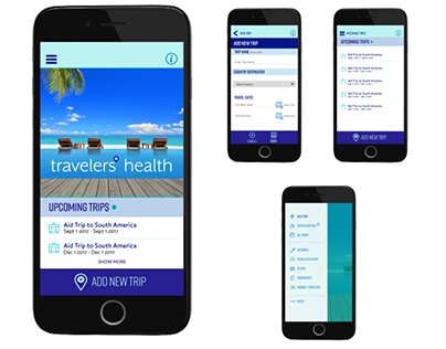 Mobile App: Travelers Health