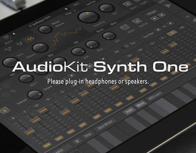 AudioKit Synth One (Digital)