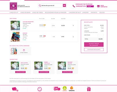 Françoise Saget Webdesign UX design