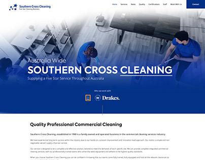 Southern Cross - Mockup Website Design