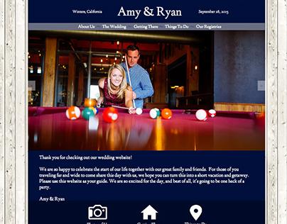 Dietz Wedding Website
