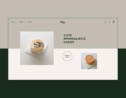 FOG.COFFEE - Online Cake Shop