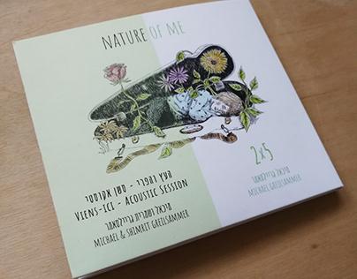 CD illustration & Design - Nature Of Me