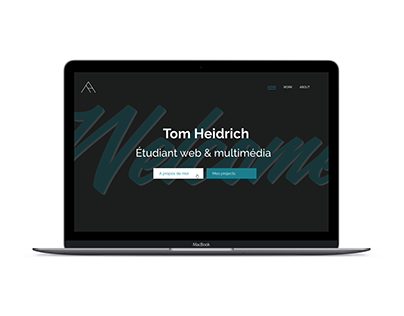Portfolio website - 2017