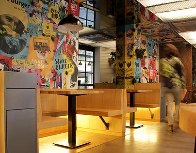 Gordon Burger Bar. Barcelona