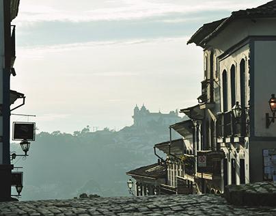 Las fachadas de Ouro Preto