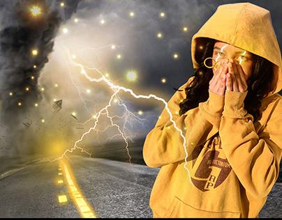 efecto de rayo (zeus) / lightning effect (zeus)