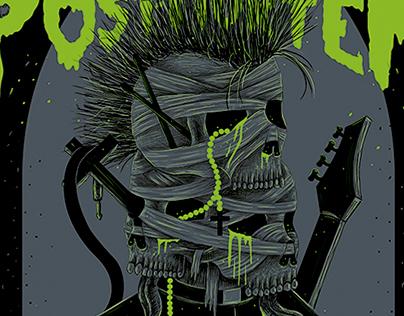 Poster   Band: Eyaculacion Post Mortem