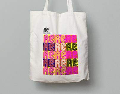 RE workshop Logo Design