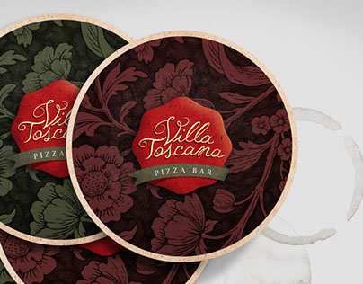 Logotype - Villa Toscana Pizza Bar