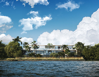 Waterfront Villa - Full CGI