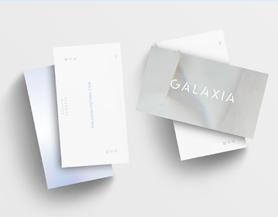 Logo remake / GALAXIA COUTURE ss16
