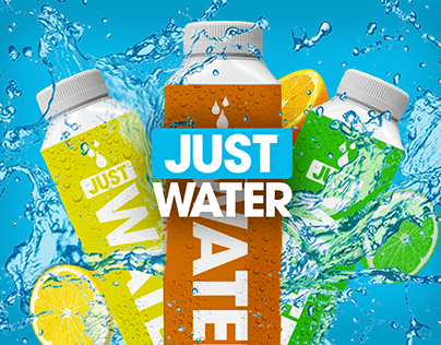 JUST Water - New Flavour Campaign