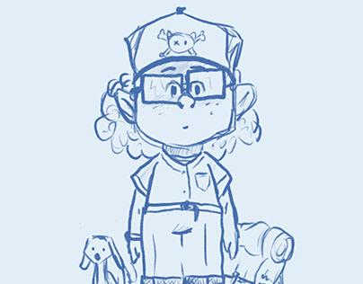 Character design in progress