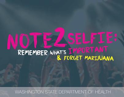 Washington Department of Health - #Listen2YourSelfie