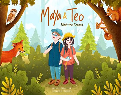 Maya and Teo