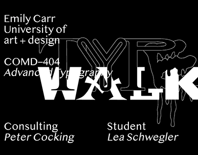 Advanced Typography: TYPEWALK