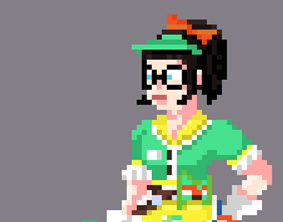 Honeydew Mei - Pixel Art