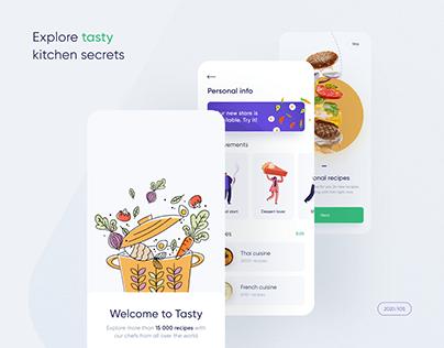 Tasty — IOS Cooking App UX/UI Case Study