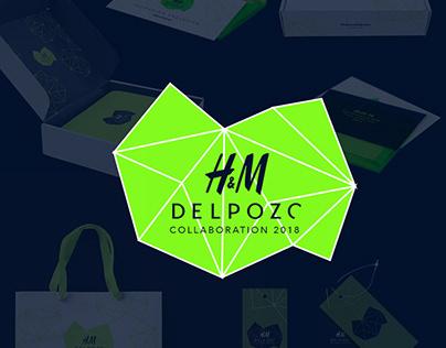 Colaboración H&M y Delpozo