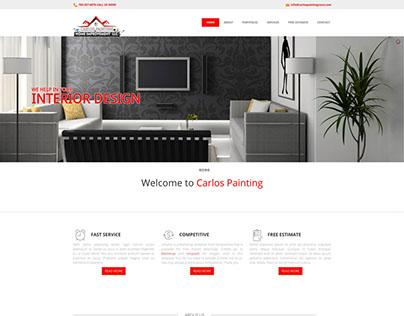 Web Design for Carlos Painting LLC