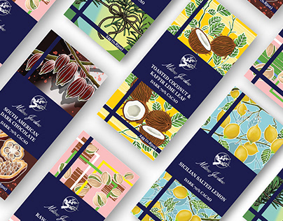 Chocolate Bar Package Design Project