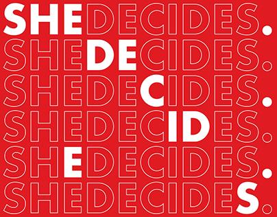 SheDecides.