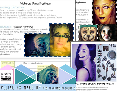 TES RESOURCES | SFX Make-up worksheets