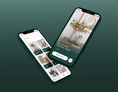 Handmade Store App Redesign