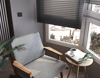 apartment in Krasnodar.  details