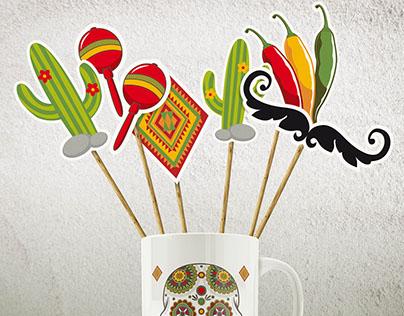 DIY MEXICAN PARTY - Design Graphique