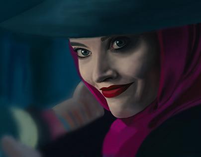 Margot Robbie fan art