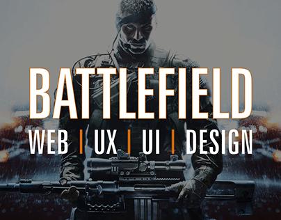 Battlefield Web/UX/UI Design