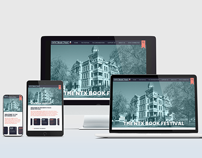 NTX Book Festival Website Re-Design