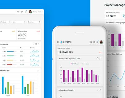 Pangong - Admin Dashboard Template & UI Kit