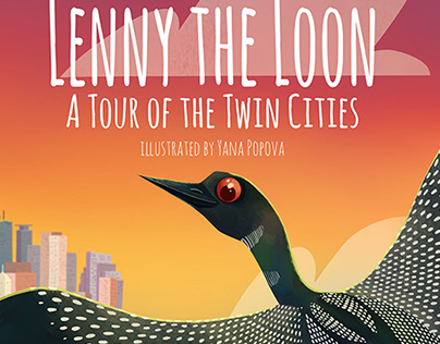 Lenny The Loon:Tour of the Twin Cities