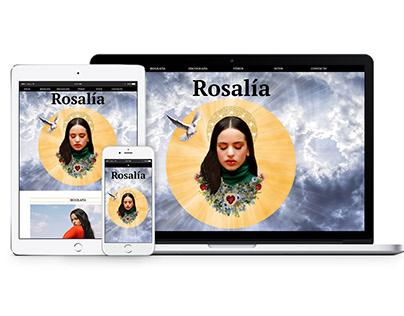 Página web Rosalía