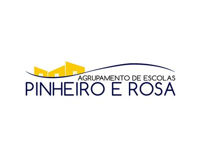 Agrupamento de Escolhas Pinheiro e Rosa | Branding