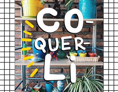 Coquerli - free font