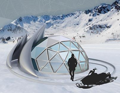 Remarkables Ski Patrol Outpost Design