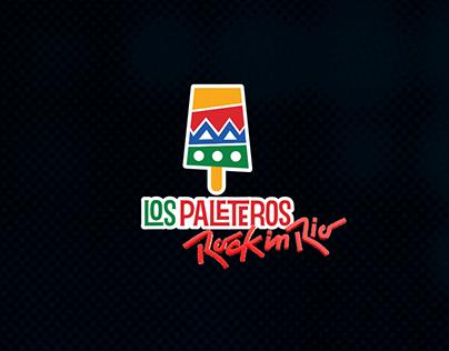 Pack Los Paleteros Rock in Rio