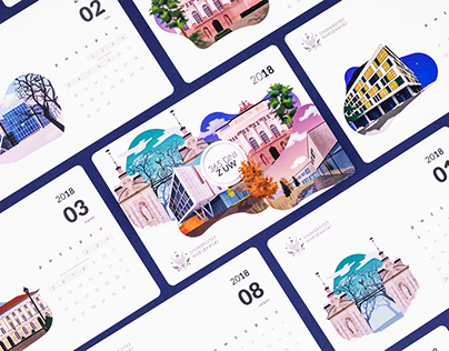 Calendar for University of Warsaw