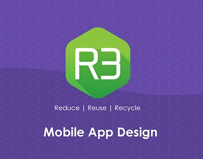 R3 Mobile App UX & UI Concept