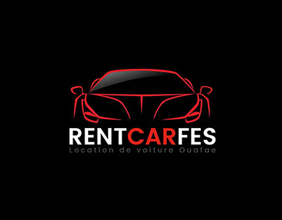 Création de logo d'une société location de voitures
