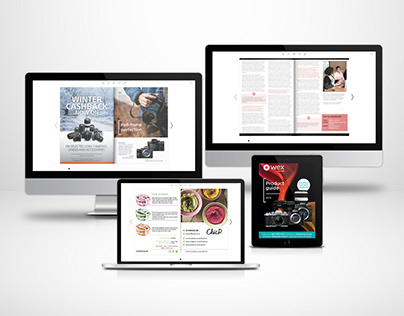 Online catalogs and brochures examples