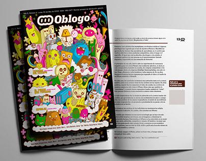 """Portada de revista / Cover Magazine """"Oblogo"""""""