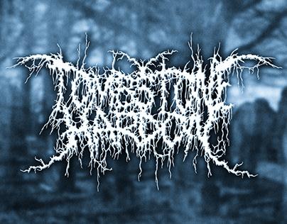 Metal Band Logo - Tombstone Hardon